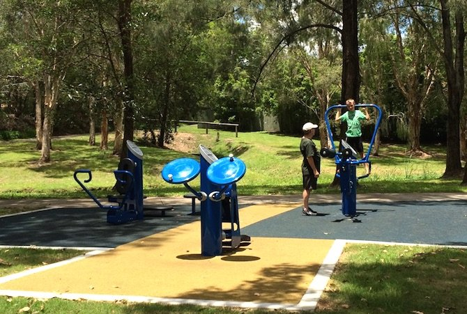 playgrounds near ikea logan exercise equip