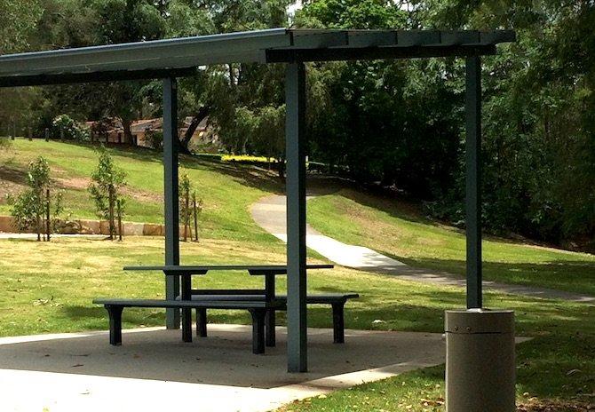 playgrounds near ikea logan picnic tables