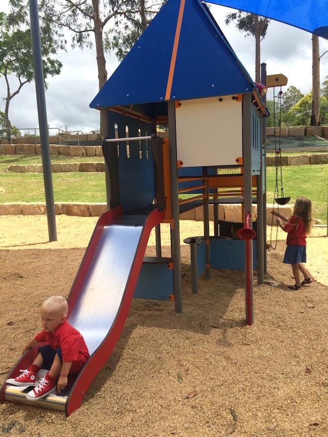playgrounds near ikea logan slide