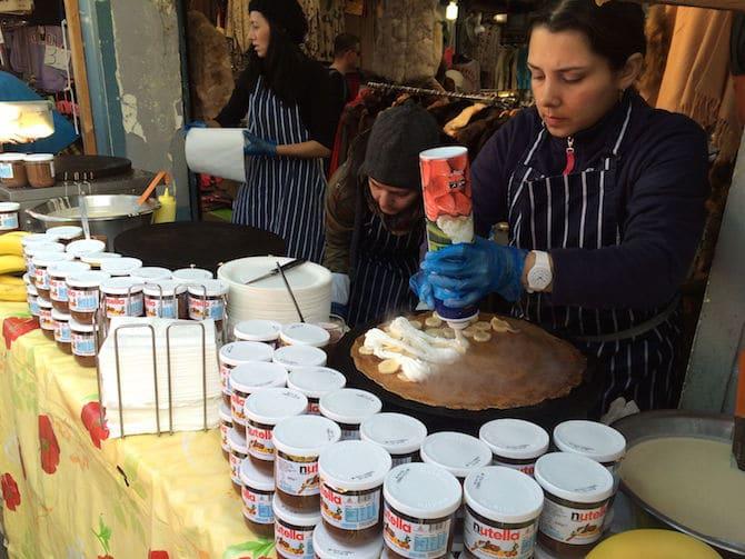 portobello markets in london banana and cream