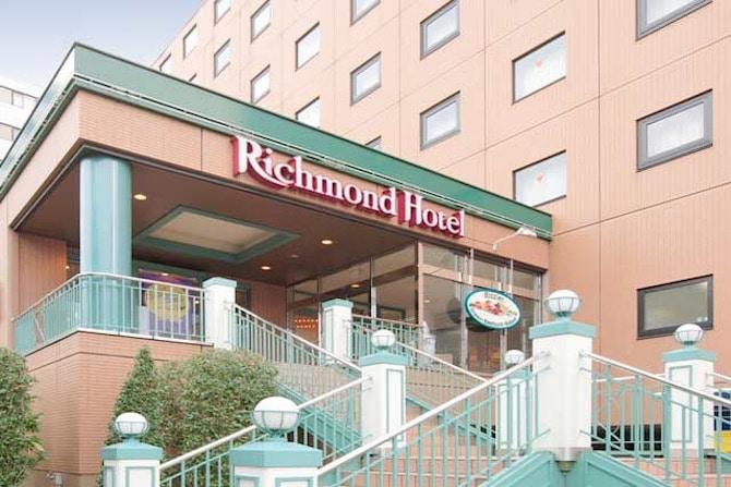 richmond hotel tokyo musashino outside