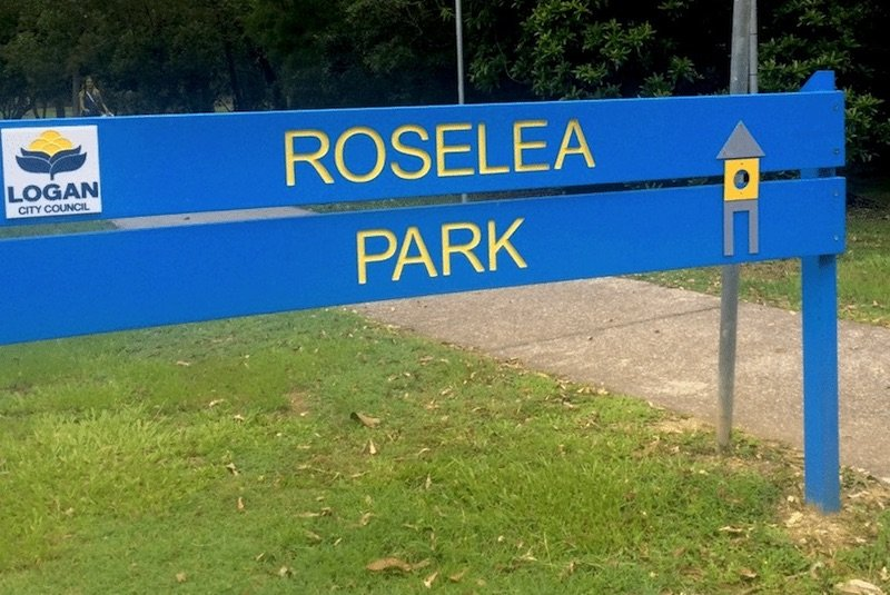roselea-park brisbane sign