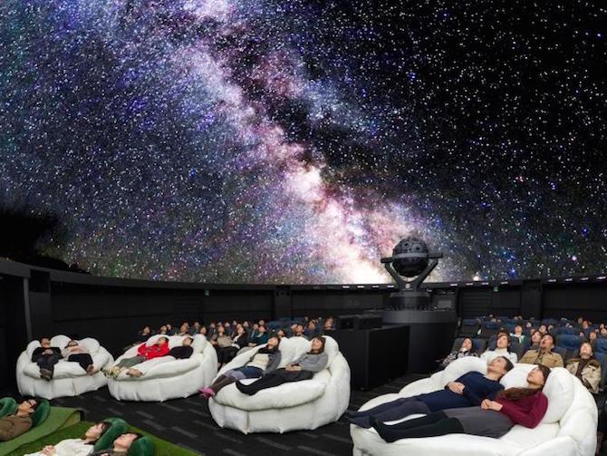 sunshine city tokyo japan planetarium