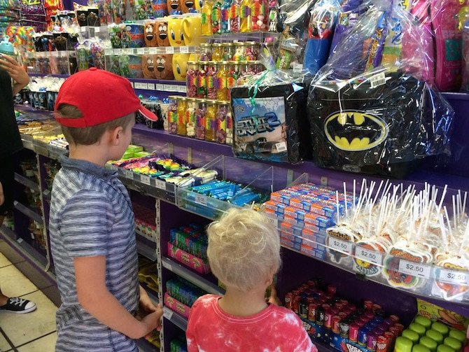 charlie and the chocolate factory shop movie world lollies pic