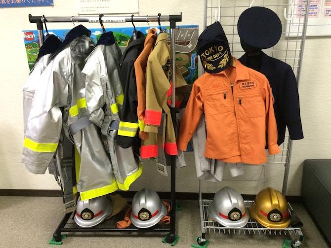 tokyo earthquake training center dress ups