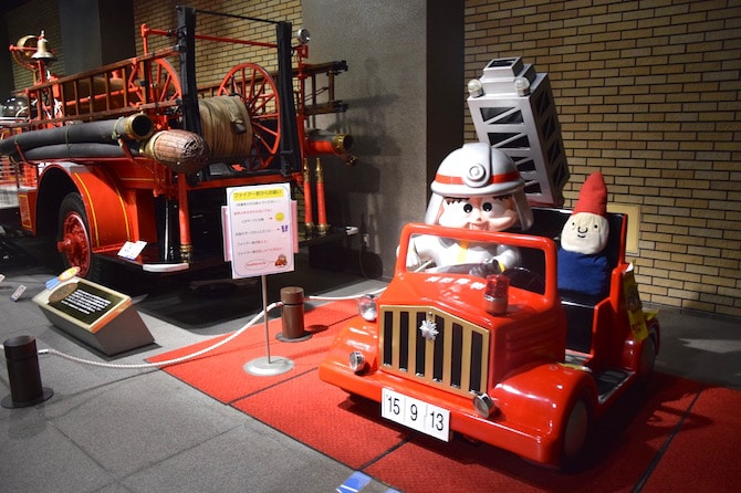 tokyo fire museum examples - tokyo attractions for kids