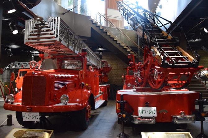tokyo fire museum fire truck models