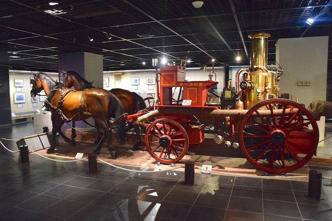 tokyo fire museum horse and carriage