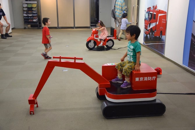tokyo fire museum ride ons