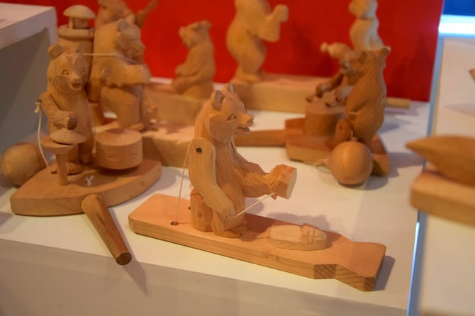 tokyo toy museum carved