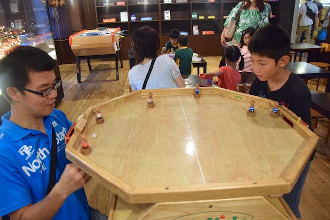 tokyo toy museum family games