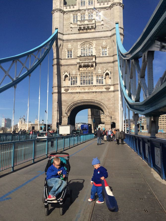 tower bridge glass walkway exit out