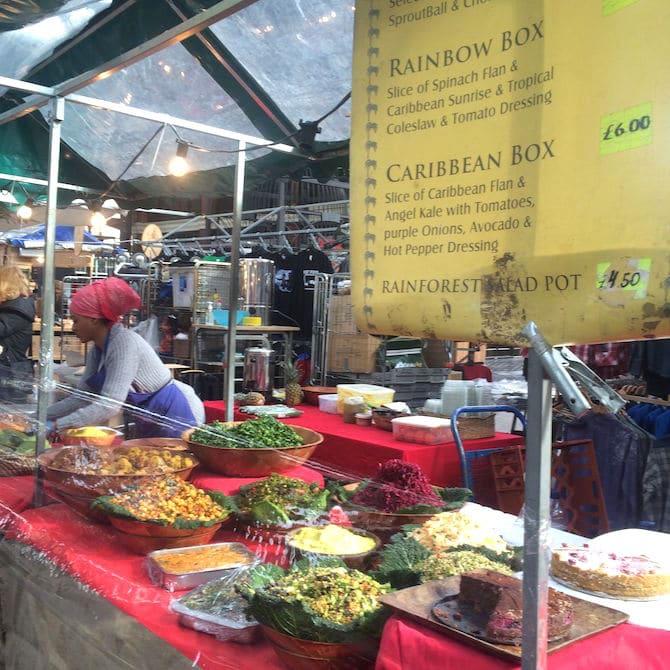 brick lane market sunday food