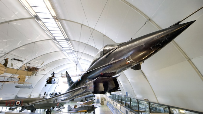 air force museum london jet