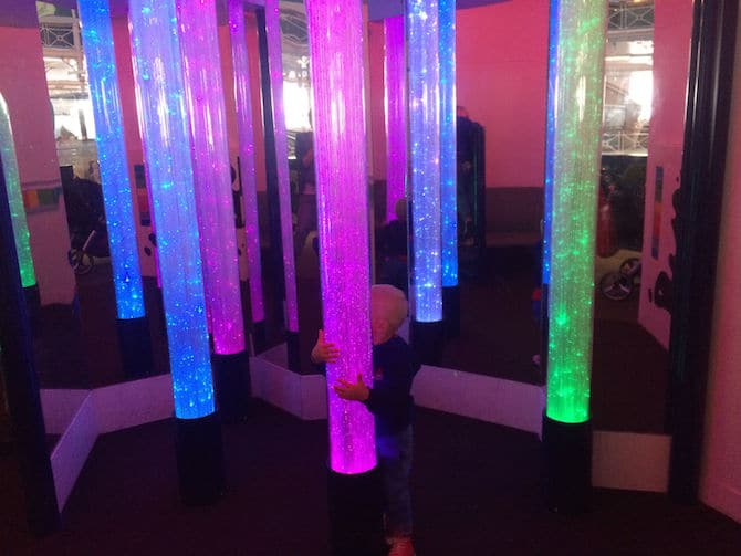 museum of childhood london light room
