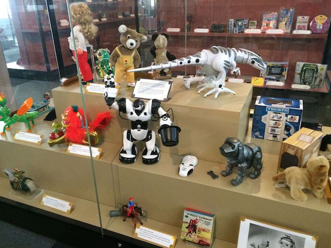 museum of childhood london review robots