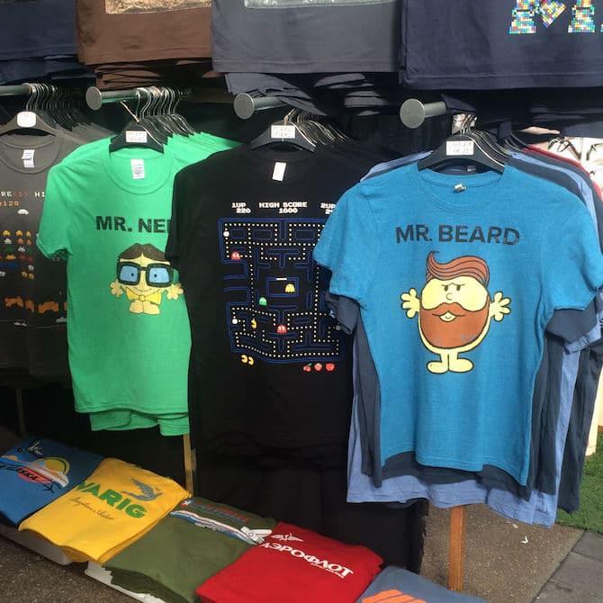old spitalfields arts market london tshirts