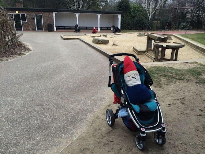 regents park playground hanover gate rtg