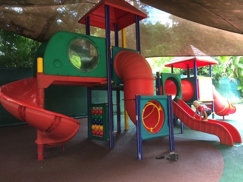 playground area at australia zoo pic
