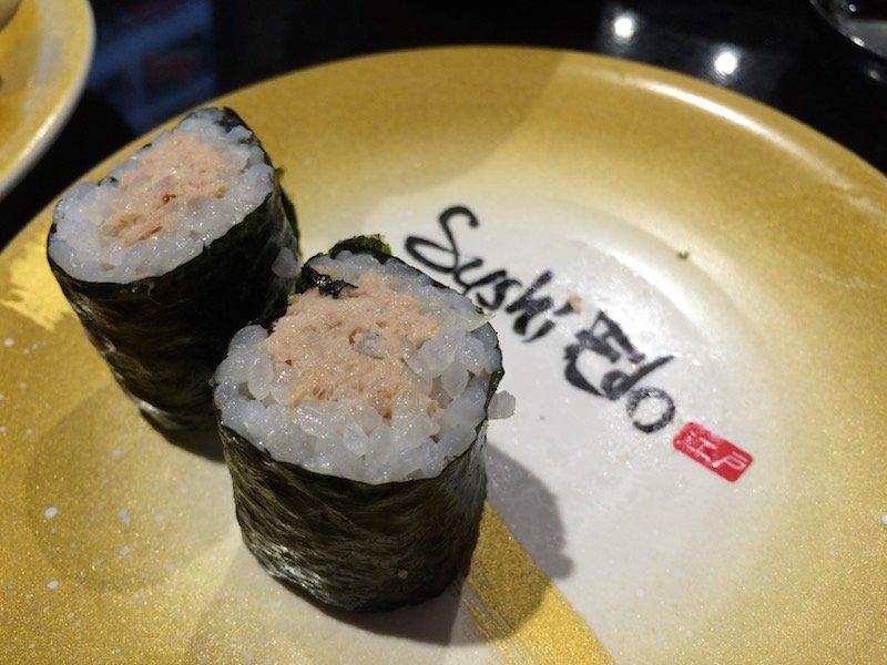 sushi edo brisbane tuna rolls pic