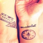 body tattoo stickers for travel lovers