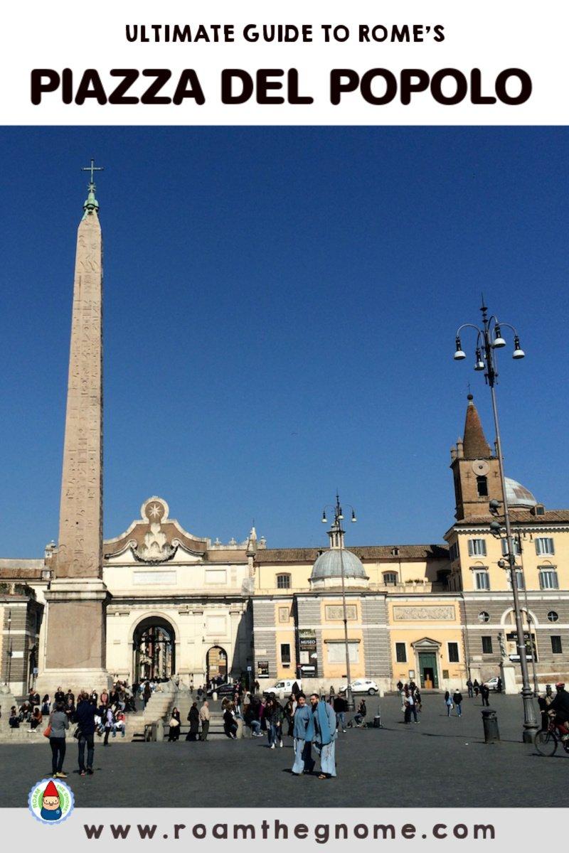 PIN PIAZZA DEL POPOLO ROME