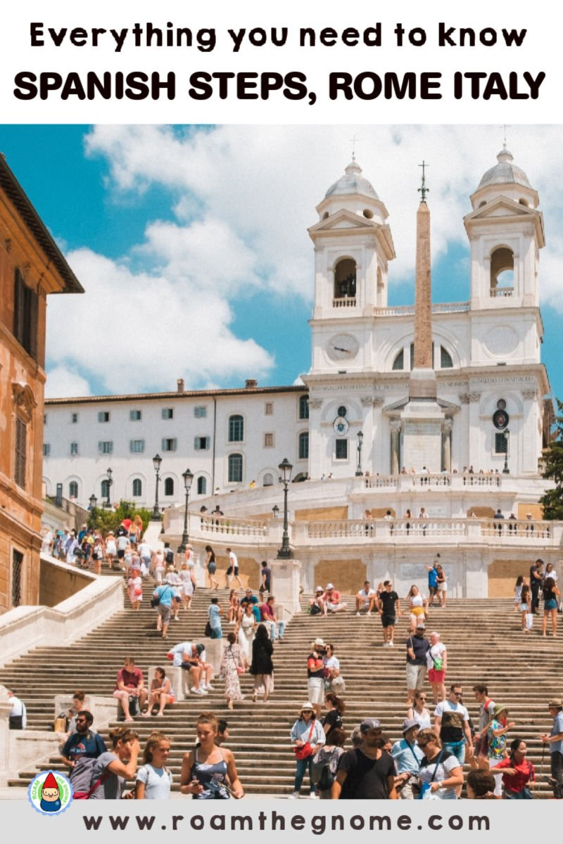 PIN spanish steps facts