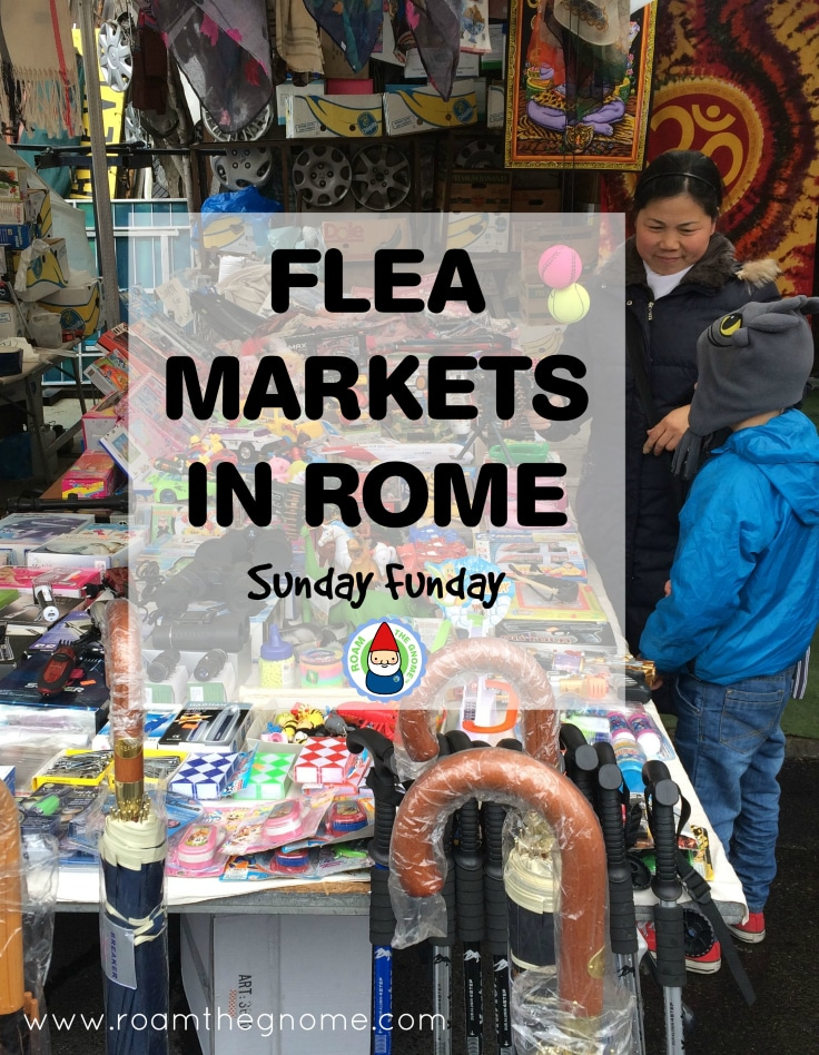 Porta Portese Market in Trastevere - Kids Toys Visit www.roamthegnome.com. Our Family Travel Directory for MORE SUPER DOOPER FUN ideas for family-friendly weekend adventures and travel with kids, all over the world. Search by city. Rated by kids and our travelling Gnome.