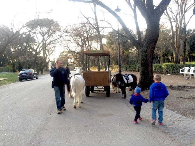 Borghese Gardens - Ride the Ponies