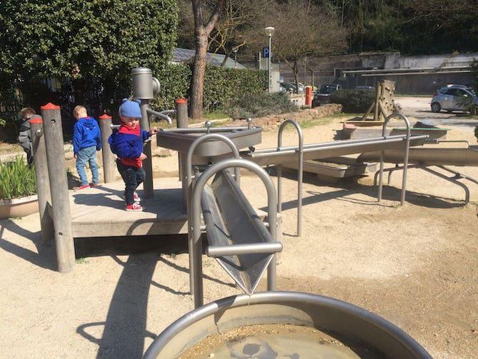 Explora Childrens Museum Garden in Rome pic