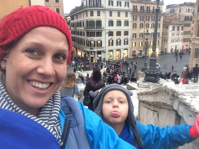 Things to see in Rome- spanish steps pic