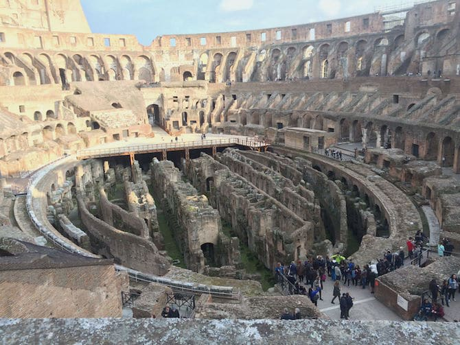 View of Colosseum during the Rome Colosseum hours pic