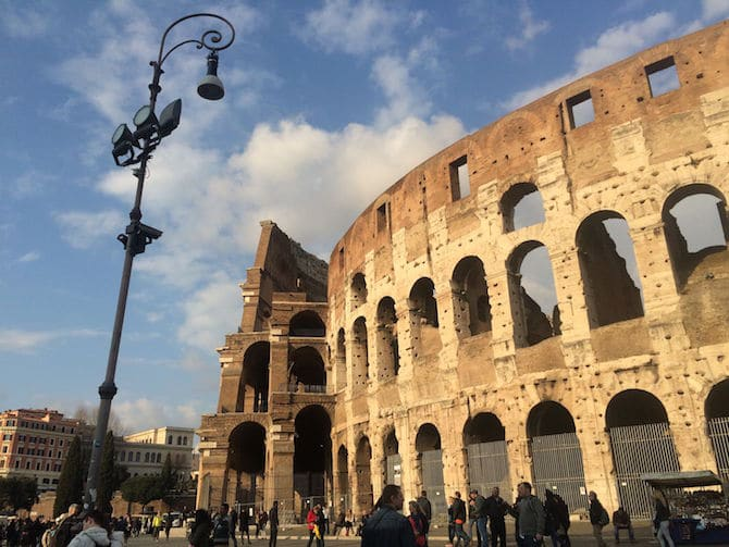 What to Do in Rome with Kids -Colosseum Exterior pic