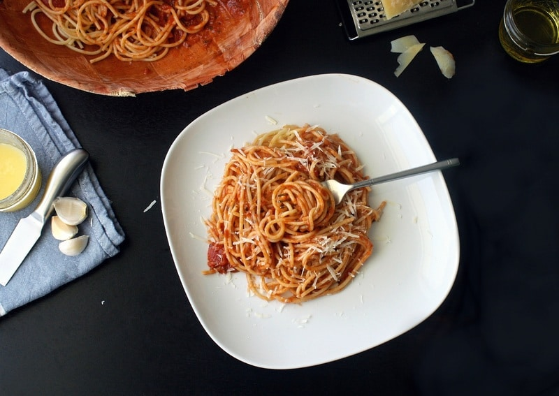 italian spaghetti in rome pic