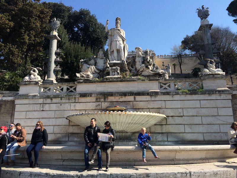 piazza del popolo rome obelisk