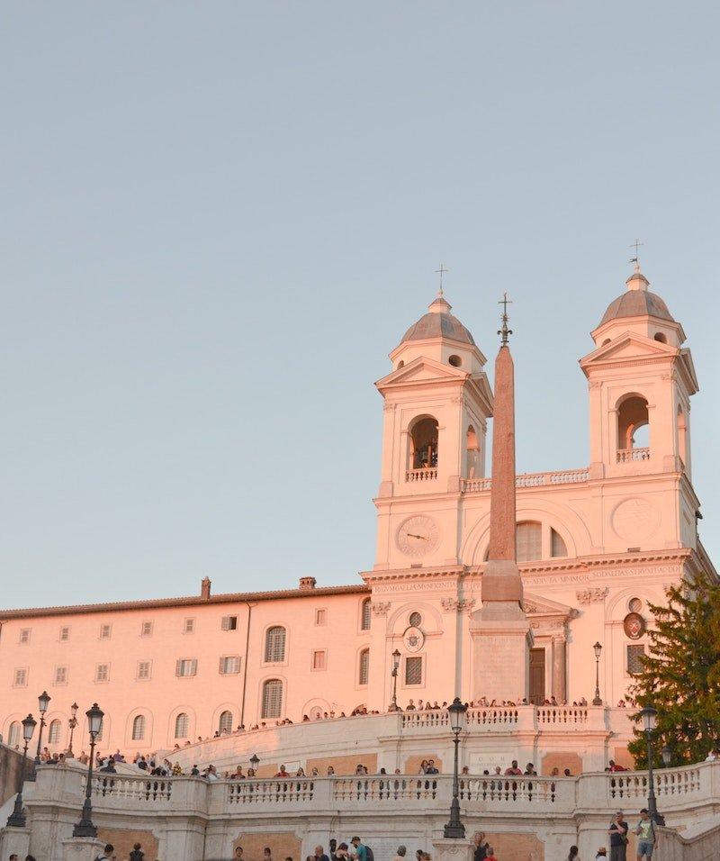 piazza di spagna in rome by meejin-choi