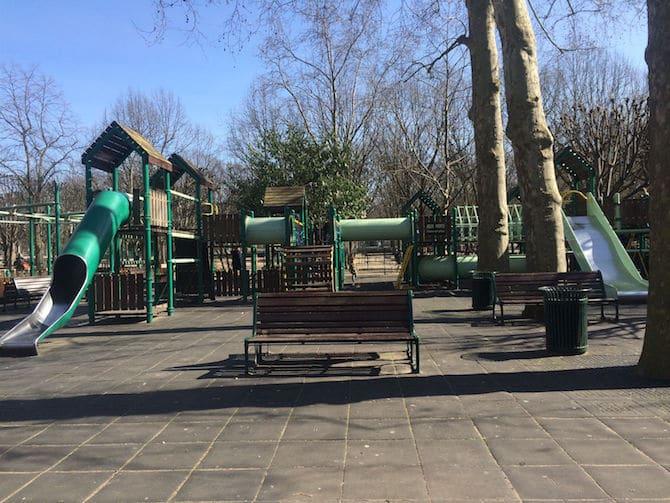big kids on playground pic