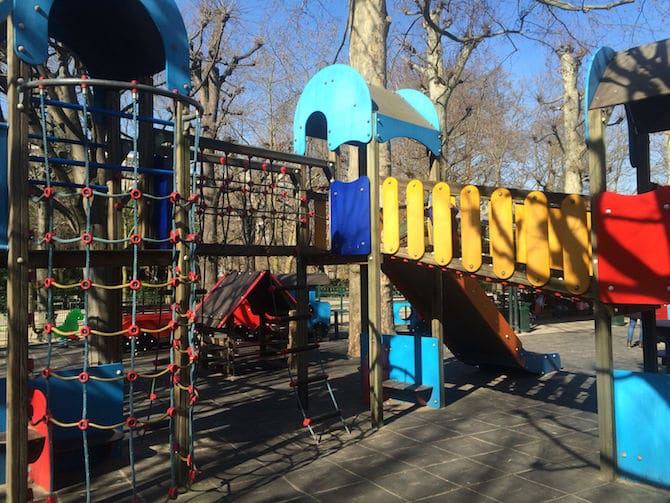 Paris points of interest - Jardin du Luxembourg Playground
