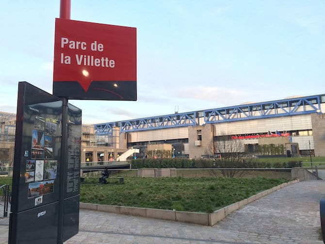 Paris PARC DE LA VILLETTE PLAYGROUND entrance image