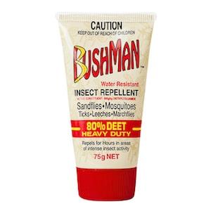 Bushman insect repellent Heavy duty gel