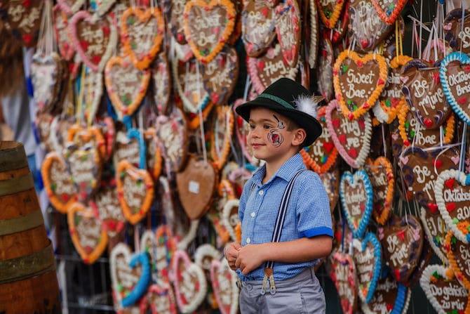 Oktoberfest Brisbane kinderzone boy
