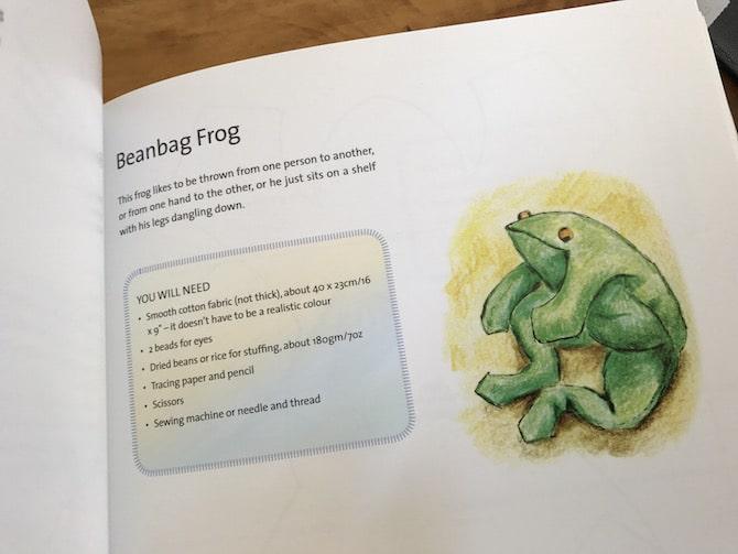 Steiner toys beanbag frog