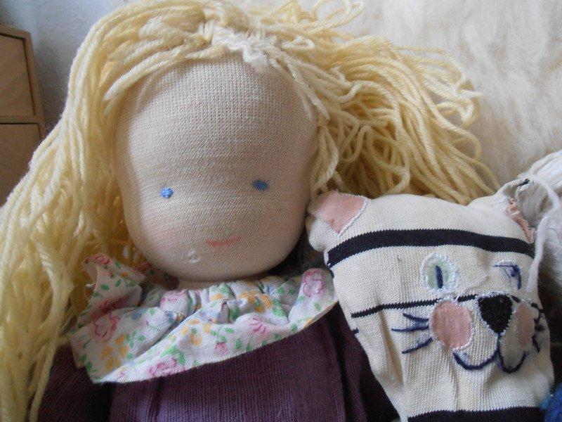 WALDORF doll by storebukkebruse