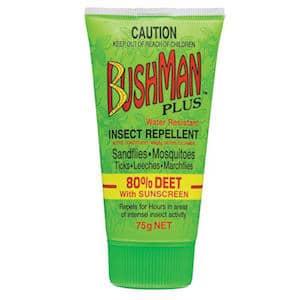 bushman insect repellent gel plus