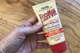 bushman insect repellent 80% deet 800
