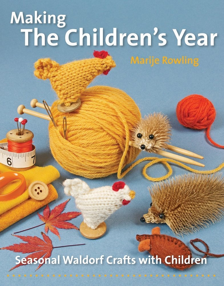 making the children's year book of waldorf toys
