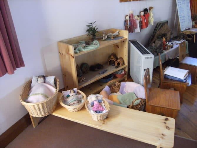Steiner toys - waldorf dolls