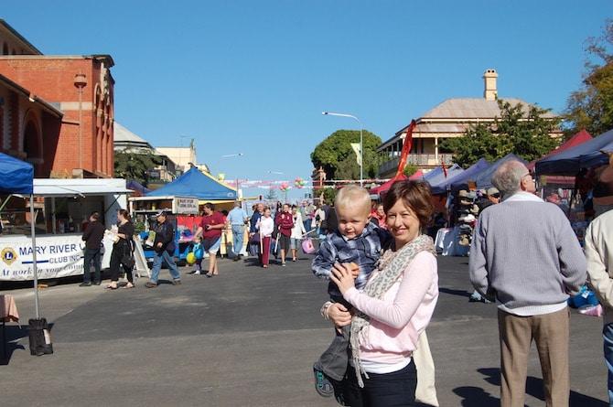 Mary Poppins Festival - buildings