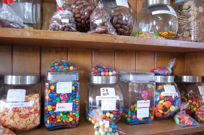 Mary Poppins festival sweets jar