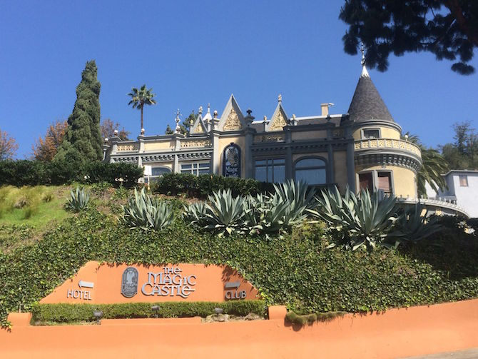 Magic Castle Hotel Los Angeles - magic castle club pic